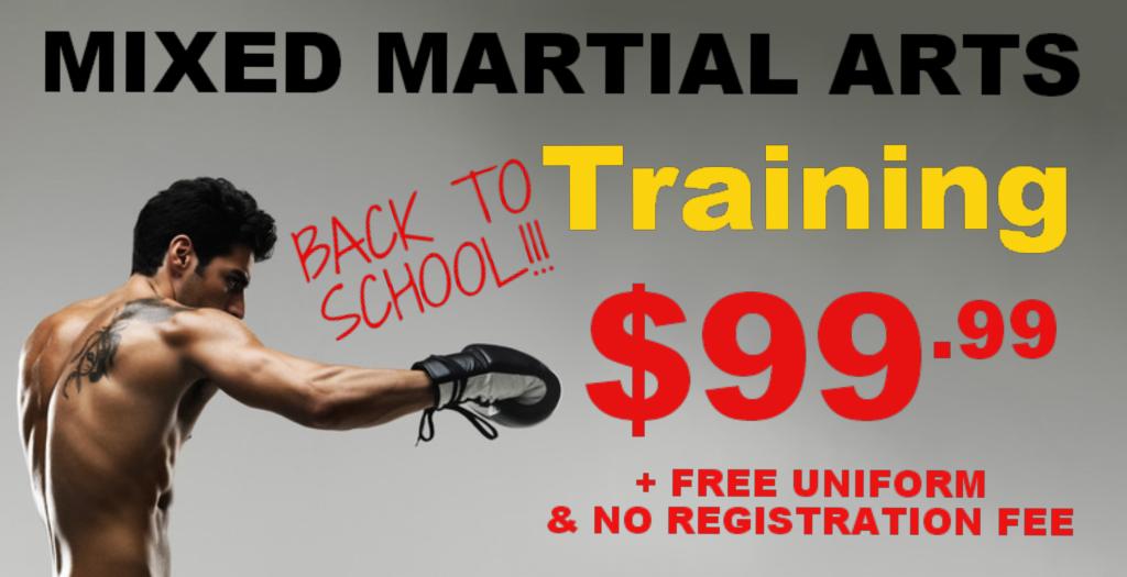 MMA Back to School