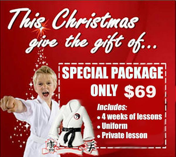 Special Holiday Package Kids Judo