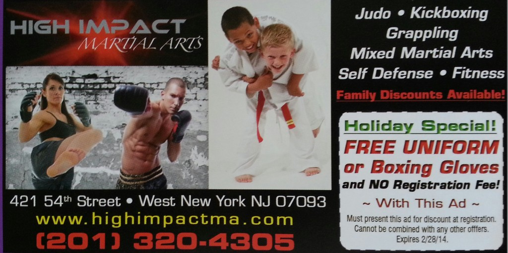 high impact martial arts holiday special