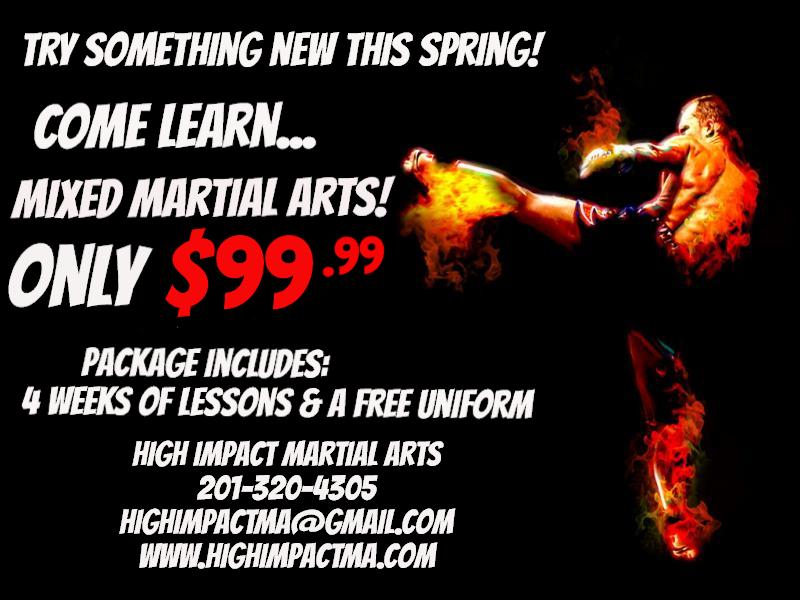 mixed martial arts adult special